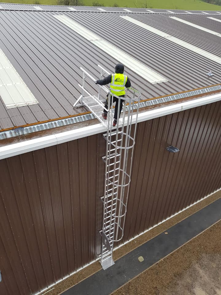 Vertical Fixed Ladder Amp Fall Protection 360 Height Projects